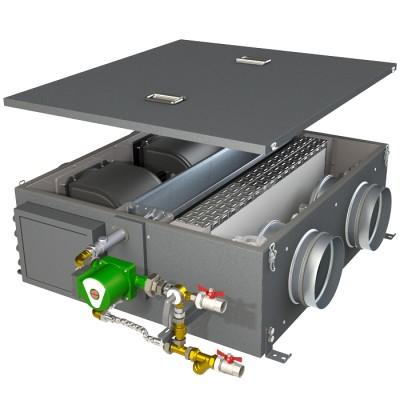 Компактная приточная установка КЭВ-ПВУ165W
