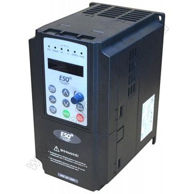 Однофазный преобразователь частоты ESQ-600-2S0037